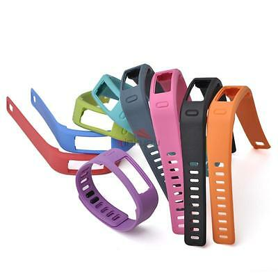 Pack 10 Wristbands color Small Replace Wrist Bands for Garmin Vivofit W/ Clasps