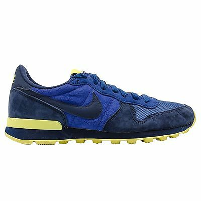 Nike Internationalist Leather Navy Blue Mens Trainers