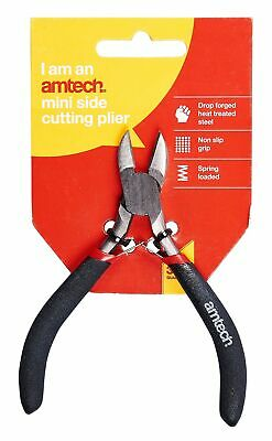 Mini Side Cutting Pliers Cut Jewellery Small Modeling Electronics Spring Loaded