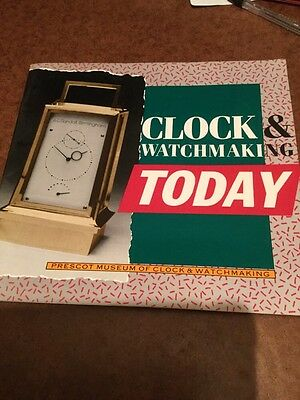 Vintage Catalogue Clock And Watch Making Today 2985