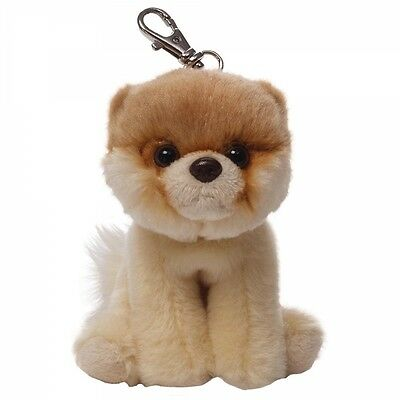 GUND Bitty Boo - Itty Bitty Boo Backpack Clip - The Worlds Cutest Dog - Soft Toy
