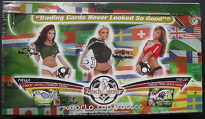2006 Benchwarmer World Cup Soccer Trading Cards Box