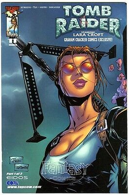 Tomb Raider #1 Exclusive (2001) NM 9.4 Image Comics