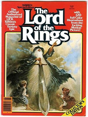 Warren Presents Lord of the Rings #1 (1979) VF+ 8.5  Comics