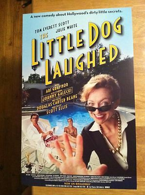 LITTLE DOG LAUGHED Window Card Poster Johnny Galecki (BIG BANG THEORY) -- MINT