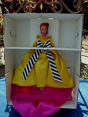1996 Mattel Bill Blass Barbie Doll Limited Edition Gown Creation Genius #17040