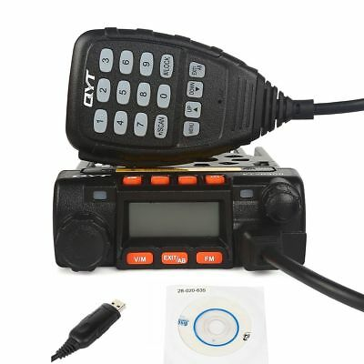 2-4 Days! QYT KT-8900 U/VHF Dual Band Car Transceiver Radio + Cable