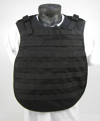 COVER ONLY!! Ex Police US Made Stab Molle Loops Body Armor Plate Carrier SB33