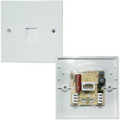 BT Filtered Extension Wall Socket–IDC ADSL Filter Broadband Plate Face plate LJ3