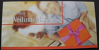 TKD031) Folder T-Card Frohes Weihnachtsfest mint/**