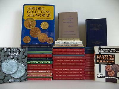 52 Coins Guide Books~Guide Book of United Stated Coins~Handbook~Red Book~Gold