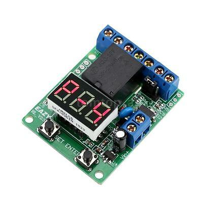 12V DC Relay Cycle Timer Control Delay Time Switch Module Voltage Detection 51WG