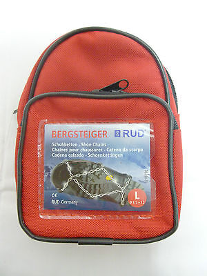 RUD Bergsteiger Shoe Snow  Chains Snowchains New in Case Hiking BARGAIN (BR1)