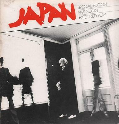 """Japan(12"""" Vinyl P/S)Special Edition EP-Quality-EPHA 001-Canada-1980-VG/VG+"""