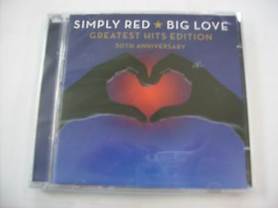 Simply Red - Big Love - 2Cd New Sealed 2015 30°Anniversary Greatest Hits Edition