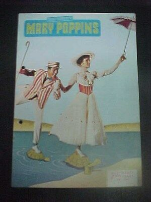 MARY POPPINS, orig 12pg Austrian Film program [Julie Andrews] - NFK 430