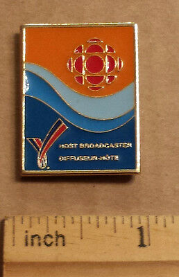 CBC Victoria 1996 Commonwealth Games, Host Broadcaster - Metal Lapel Pin