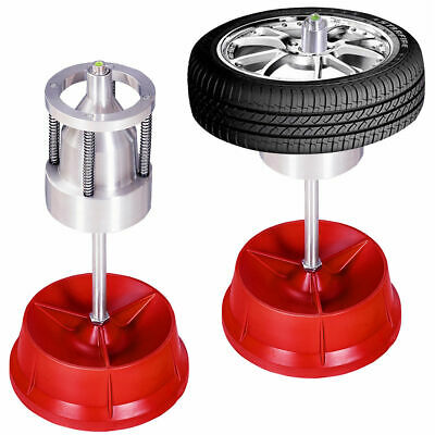 Pro Portable Hubs Wheel Balancer W/ Bubble Level Heavy Duty Rim Tire Cars Truck