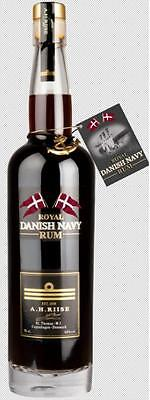A.H. RIISE ROYAL DANISH NAVY RUM DÄNISCH 0,7l 40 % vol.