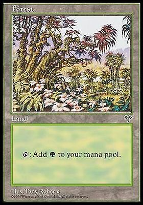 ▼▲▼ 4x Forêt Forest Carnage #349 FRENCH MTG Magic