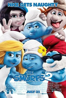 Smurfs 2  - original DS movie poster - D/S 27x40 FINAL