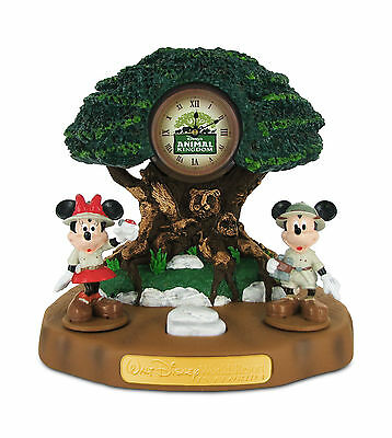 Disney Animal Kingdom Mickey & Minnie Alarm Clock nib MCDONALDS COLLECTIBLE