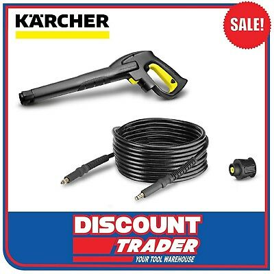 Karcher Quick Connect Accessory Set Gun Hose Adaptor K2-K3 7.5 Meter 2.642-792.0