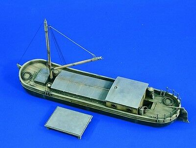 VERLINDEN PRODUCTIONS #1679 Small River Barge für Diorama in 1:35