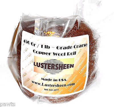 Copper Wool Roll 1 LB - Coarse