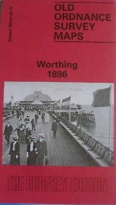 Old Ordnance Survey Maps  Worthing Sussex 1896  Sheet 64.15  Brand New