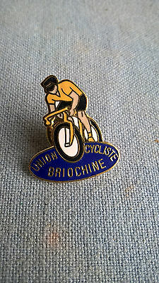 Pins Union cycliste Briochine Saint Brieuc Bretagne lapel Badge