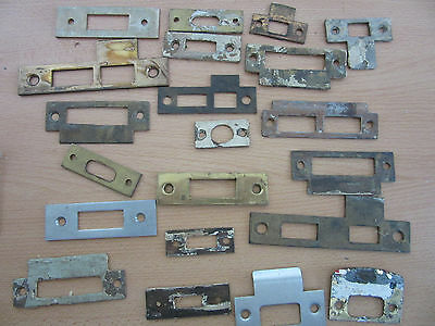 Lot of Vintage Door Locks and Parts - Ilco Unican, Russwin, Haven, etc.
