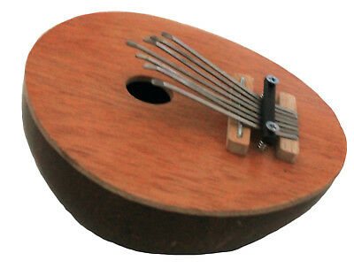 FAIR TRADE COCONUT THUMB PIANO CALIMBA KALIMBA MBIRA MARIMBA KARIMBA OKEMI new
