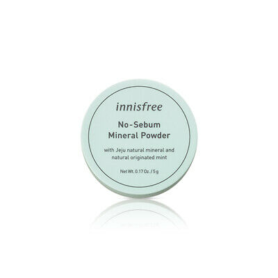 [INNISFREE] No Sebum Mineral Powder 5g / Double sebum control