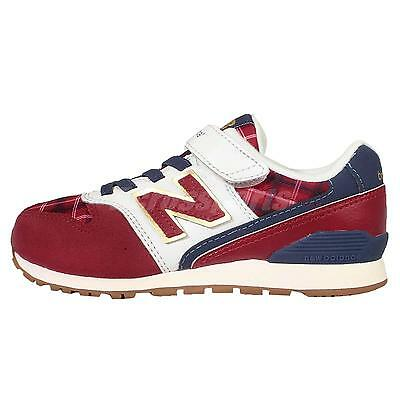 New Balance KV996CCY W Red Navy Kids Youth Running Shoes Sneakers KV996CCYW