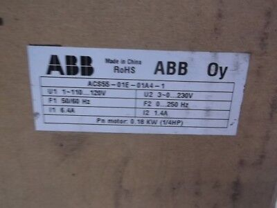 Abb Acs55-01E-01A4-1 Variable Frequency Drive *new In A Box*