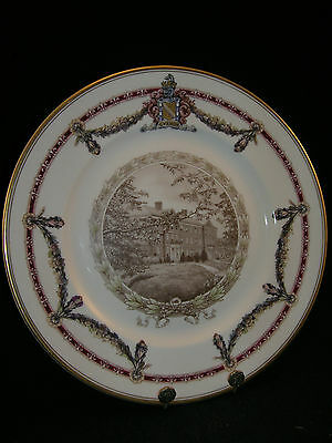 Lafayette College Plate - Easton Hall - Circa 1932