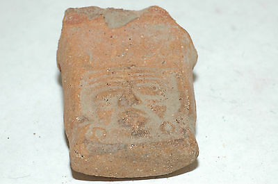 Pre-Columbian Mayan Vessel Fragment Central Mexico CAA-242