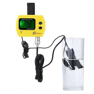 Digital pH & TEMP Meter Water Quality Monitor for Aquarium Pool Hydroponics N1ZG