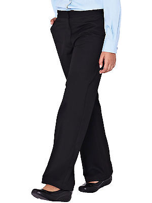 Top Class Girls Woven School Uniform Pack Of Two Trousers