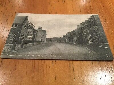 old postcard . Main Street Looking East Aberlady