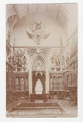 RPPC,Windsor,U.K.Windsor Castle,Grand Vestibule,Berkshire,c.1909