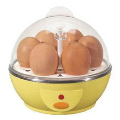Electric Egg Boiler Cooker - Cooks up to 6 eggs hard or soft boiled & poacher!