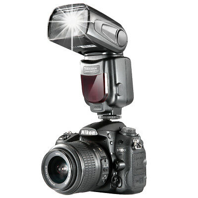 Neewer NW-561 Speedlite Flash with LCD Display for Nikon & Canon DSLR Cameras