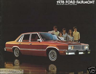 Auto Brochure - Ford - Fairmont - 1978  (AB751)