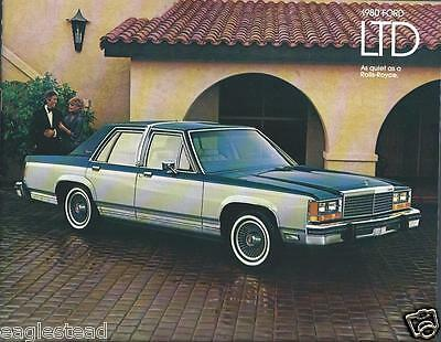 Auto Brochure - Ford - LTD - 1980  (AB754)