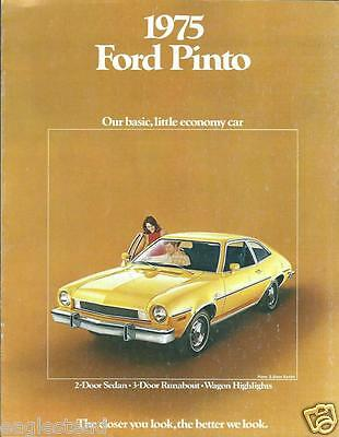 Auto Brochure - Ford - Pinto - 1975  (AB757)