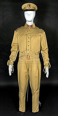 Dune House Atreides Desert Officer Uniform & Cap Original Movie Costume Prop