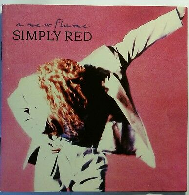 new flame cd simply red