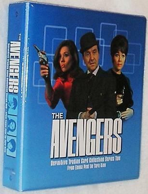 Avengers Series 2 Trading Card Binder with Base & Chase Sets + Binder Pages